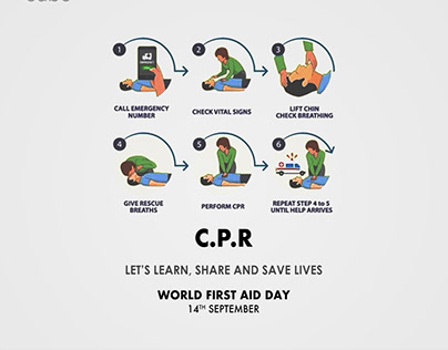 LET'S LEARN, SHARE AND SAVE LIVES WORLD FIRST AID DAY