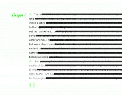 Anonymous Milestones - Interactive Animated PDF - ISTD