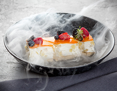Food photography. Dessert.