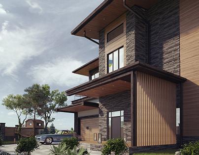 Project private house in Poltava