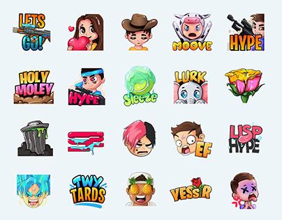Emotes & Sub Badges