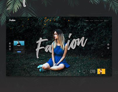 Fashion House Landing Page
