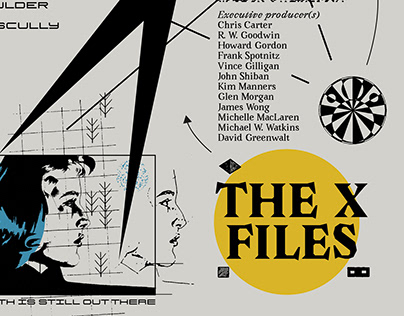The X-Files - poster art