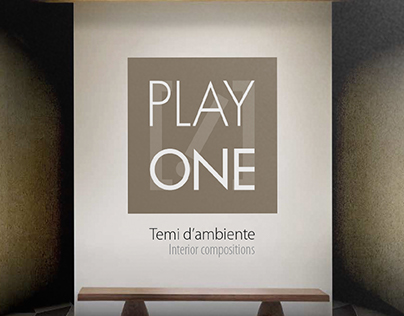 PLAYONE CATALOGUE - BRAND IDENTITY