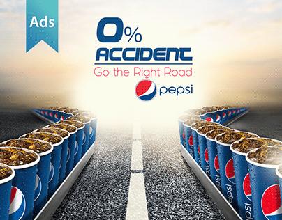 PEPSI - 0% Accident Campaign