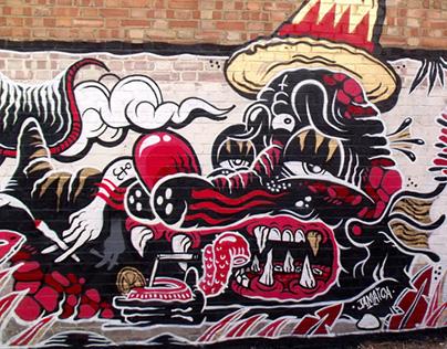 Walls by The Yok & Sheryo 2013