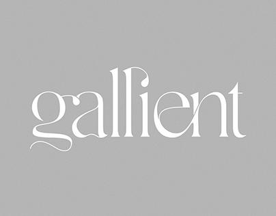 Gallient - Free Typeface