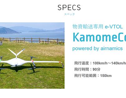 Cargo drone_Kamomeair_Airnamics_drLojz