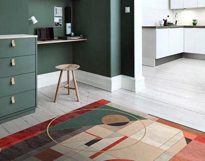 Design collection of modern carpets. Vol. 1