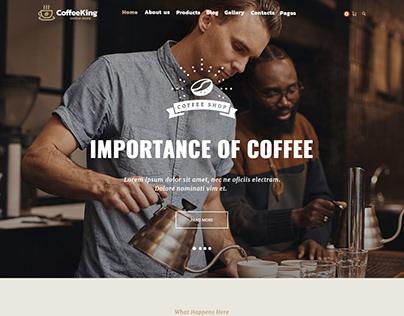 CoffeeKing : Online Store
