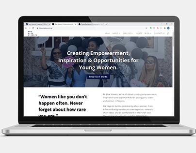 Blue Streets NG - Website Design