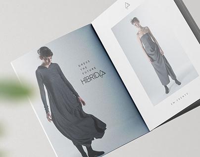 Híbrida - Logotipo e Identidade visual