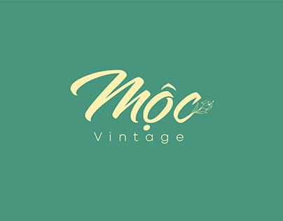 Logo Mộc vitage   Branding by Dazis PHUNG