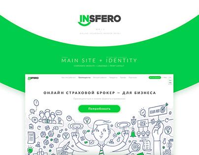Insurance platform B2B/C/ Landing + Identity