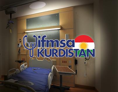 """Ifmsa Kurdistan"" redesign logo proposal."