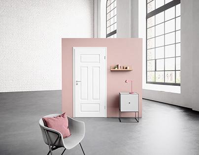 Catalogue Renderings of Doors