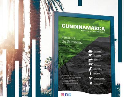 Infografía Municipio Cundinamarca -Colombia