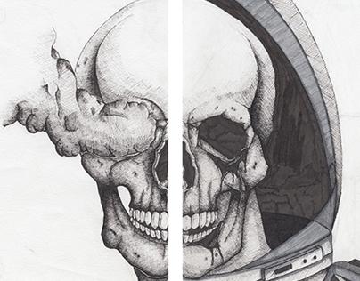 Observational Ink Illustrations