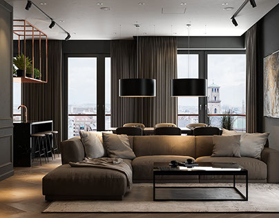 BLACK / Copper Appartment