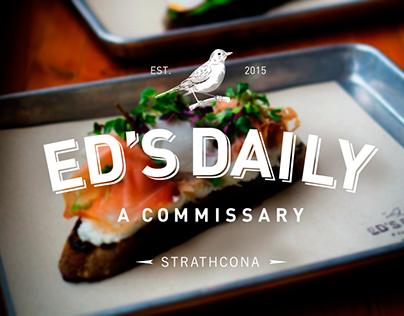 Ed's Daily / Branding