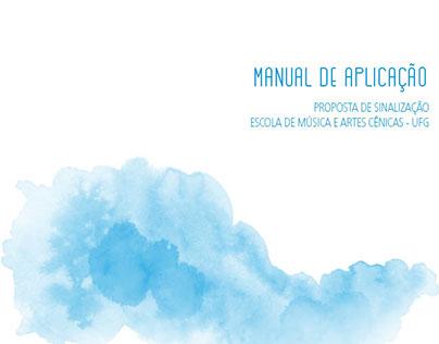 Proposta de Sinalização da EMAC - UFG