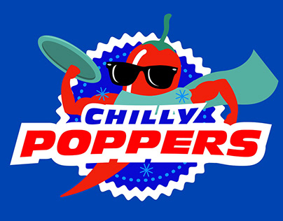 Chilly Poppers Logo & T-shirt Design