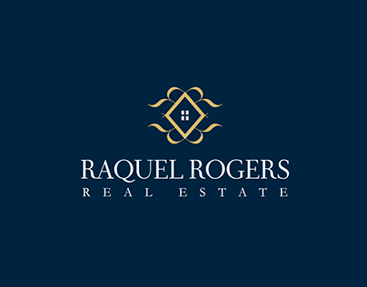 Logo branding for Raquel Rogers Real Estate