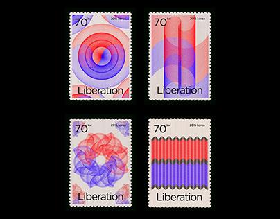 광복절 70주년 기념 우표 / 70th National Liberation Stamp