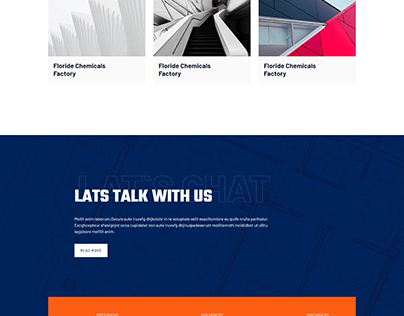 Constraction Website HTML & CSS