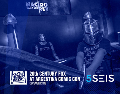 20th Century Fox at Argentina Comic Con December 2018