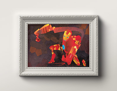 IronMan Cubism