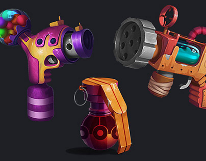 Game Weapon Designs