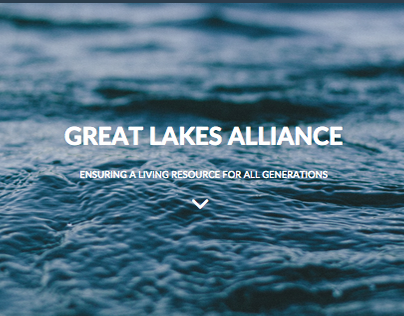Great Lakes Alliance - Responsive Website