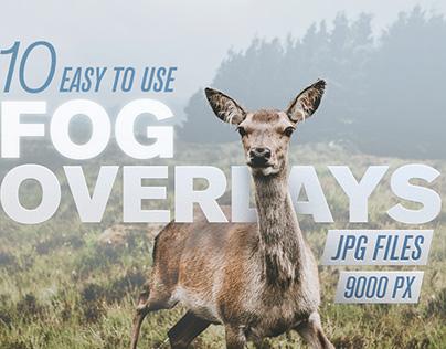 10 Fog Overlays