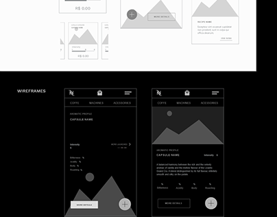 UX Case Study (Responsive + Mobile First): Nespresso