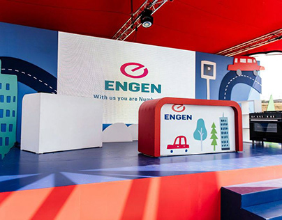 Engen Kids Zone area Concept and Design