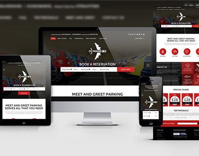 Web Design & Development - Zee Parking