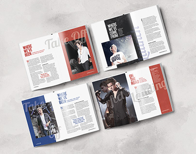 One Direction: Where We Are Book Redesign
