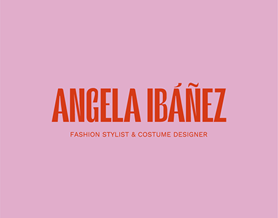 Angela Ibáñez. Fashion stylist