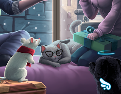 XMASS Illustration Gift for all