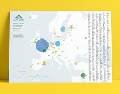 Investors in Europe map