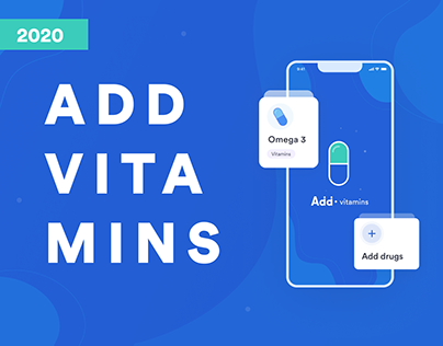 Add vitamins - IOS app