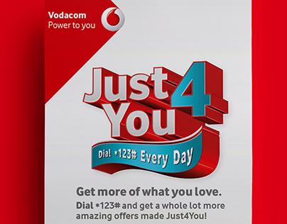 Vodacom Retail & Instore elements