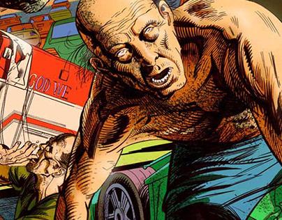 Zombie comic 1