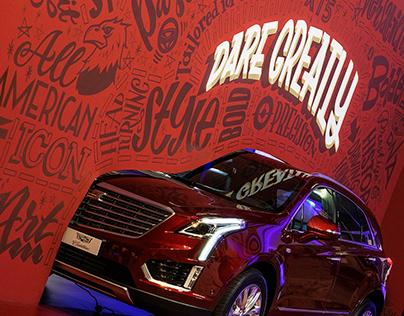 Cadillac Mural
