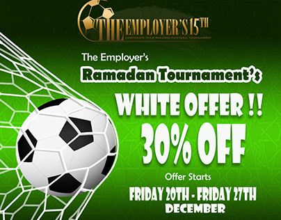 The Employer's Corporate White Friday Offer FB Design