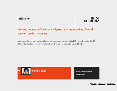 IFHOUSE web design