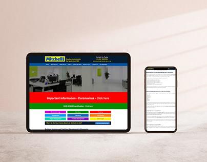 Mitchells Glos - Website Design