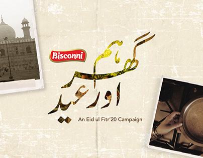 Bisconni- Hum Ghar aur Eid | Art Direction