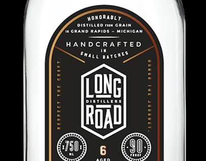 Long Road Distillers - Spirits Packaging Concepts